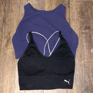 Bundle of two sports bras